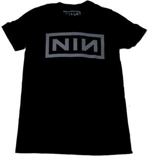 NINE INCH NAILS「LOGO」Tシャツ<img class='new_mark_img2' src='//img.shop-pro.jp/img/new/icons11.gif' style='border:none;display:inline;margin:0px;padding:0px;width:auto;' />