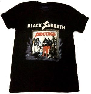 BLACK SABBATH「SABOTAGE」Tシャツ<img class='new_mark_img2' src='//img.shop-pro.jp/img/new/icons52.gif' style='border:none;display:inline;margin:0px;padding:0px;width:auto;' />