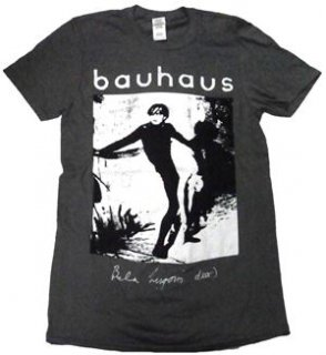 BAUHAUS「BELA LUGOSI'S DEAD-CHACOAL」Tシャツ<img class='new_mark_img2' src='//img.shop-pro.jp/img/new/icons11.gif' style='border:none;display:inline;margin:0px;padding:0px;width:auto;' />