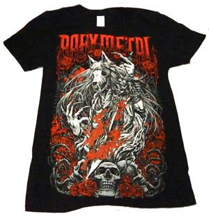 BABYMETAL「ROSE WOLF」Tシャツ<img class='new_mark_img2' src='//img.shop-pro.jp/img/new/icons11.gif' style='border:none;display:inline;margin:0px;padding:0px;width:auto;' />