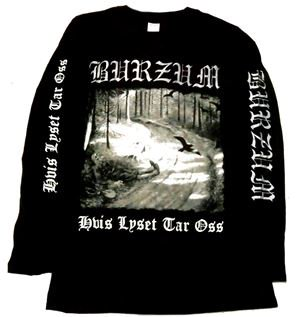 BURZUM「Hvis Lyset Tar Oss」ロングスリーブシャツ<img class='new_mark_img2' src='//img.shop-pro.jp/img/new/icons11.gif' style='border:none;display:inline;margin:0px;padding:0px;width:auto;' />