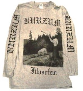 BURZUM「FILOSOFEM」ロングスリーブシャツ<img class='new_mark_img2' src='//img.shop-pro.jp/img/new/icons11.gif' style='border:none;display:inline;margin:0px;padding:0px;width:auto;' />