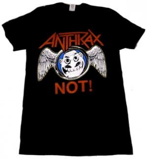 ANTHRAX「NOT WINGS」Tシャツ<img class='new_mark_img2' src='//img.shop-pro.jp/img/new/icons11.gif' style='border:none;display:inline;margin:0px;padding:0px;width:auto;' />