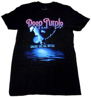 DEEP PURPLE「SMOKE ON THE WATER」Tシャツ<img class='new_mark_img2' src='//img.shop-pro.jp/img/new/icons11.gif' style='border:none;display:inline;margin:0px;padding:0px;width:auto;' />