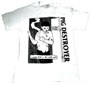 PIG DESTROYER「I NEED THAT WHITE」Tシャツ<img class='new_mark_img2' src='//img.shop-pro.jp/img/new/icons11.gif' style='border:none;display:inline;margin:0px;padding:0px;width:auto;' />