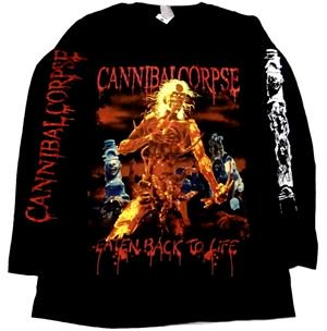 CANNIBAL CORPSE「EATEN BACK TO LIFE#2」ロングスリーブシャツ<img class='new_mark_img2' src='//img.shop-pro.jp/img/new/icons11.gif' style='border:none;display:inline;margin:0px;padding:0px;width:auto;' />