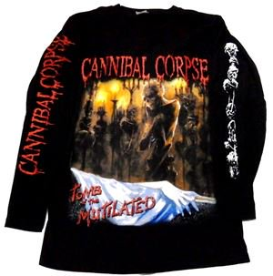 CANNIBAL CORPSE「TOMB OF THE MUTILATED#2」ロングスリーブシャツ<img class='new_mark_img2' src='//img.shop-pro.jp/img/new/icons11.gif' style='border:none;display:inline;margin:0px;padding:0px;width:auto;' />