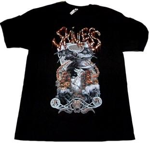 SKINLESS「SAVAGERY」Tシャツ<img class='new_mark_img2' src='//img.shop-pro.jp/img/new/icons11.gif' style='border:none;display:inline;margin:0px;padding:0px;width:auto;' />