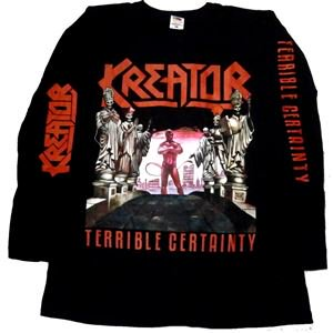 KREATOR「TERRIBLE CERTANITY」ロングスリーブシャツ<img class='new_mark_img2' src='//img.shop-pro.jp/img/new/icons11.gif' style='border:none;display:inline;margin:0px;padding:0px;width:auto;' />