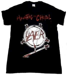 SLAYER「HAUNTING THE CHAPEL BLACK」Tシャツ<img class='new_mark_img2' src='//img.shop-pro.jp/img/new/icons11.gif' style='border:none;display:inline;margin:0px;padding:0px;width:auto;' />