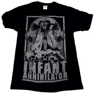 INFANT ANNIHILATOR「GOAT LORD」Tシャツ<img class='new_mark_img2' src='//img.shop-pro.jp/img/new/icons11.gif' style='border:none;display:inline;margin:0px;padding:0px;width:auto;' />