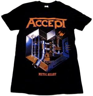 ACCEPT「METAL HEART」Tシャツ<img class='new_mark_img2' src='//img.shop-pro.jp/img/new/icons52.gif' style='border:none;display:inline;margin:0px;padding:0px;width:auto;' />
