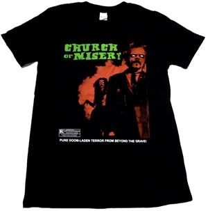 CHURCH OF MISERY「RATED R」Tシャツ<img class='new_mark_img2' src='//img.shop-pro.jp/img/new/icons11.gif' style='border:none;display:inline;margin:0px;padding:0px;width:auto;' />