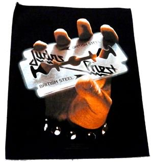 JUDAS PRIEST「BRITISH STEEL」布バックパッチ<img class='new_mark_img2' src='//img.shop-pro.jp/img/new/icons52.gif' style='border:none;display:inline;margin:0px;padding:0px;width:auto;' />
