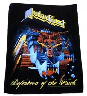 JUDAS PRIEST「DEFFENDERS OF THE FAITH」布バックパッチ<img class='new_mark_img2' src='//img.shop-pro.jp/img/new/icons11.gif' style='border:none;display:inline;margin:0px;padding:0px;width:auto;' />