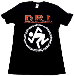 D.R.I.「BARBED WIRE」Tシャツ<img class='new_mark_img2' src='//img.shop-pro.jp/img/new/icons11.gif' style='border:none;display:inline;margin:0px;padding:0px;width:auto;' />