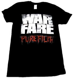 WARFARE「PURE FILTH」Tシャツ<img class='new_mark_img2' src='//img.shop-pro.jp/img/new/icons11.gif' style='border:none;display:inline;margin:0px;padding:0px;width:auto;' />