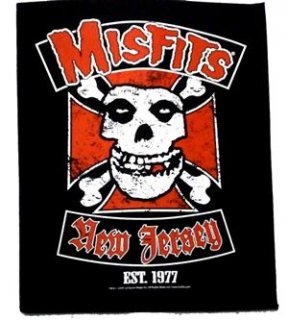 MISFITS「NEW JERSEY」布バックパッチ<img class='new_mark_img2' src='//img.shop-pro.jp/img/new/icons11.gif' style='border:none;display:inline;margin:0px;padding:0px;width:auto;' />