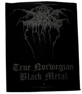 DARKTHRONE「PUFF LOGO」バックパッチ
