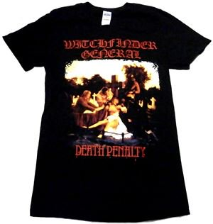 WITCHFINDER GENERAL「DEATH PENALTY」Tシャツ<img class='new_mark_img2' src='//img.shop-pro.jp/img/new/icons11.gif' style='border:none;display:inline;margin:0px;padding:0px;width:auto;' />