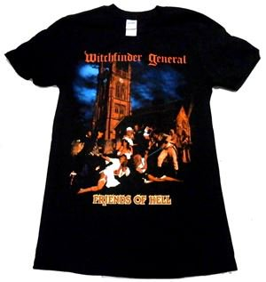 WITCHFINDER GENERAL「FRIENDS OF HELL」Tシャツ<img class='new_mark_img2' src='//img.shop-pro.jp/img/new/icons11.gif' style='border:none;display:inline;margin:0px;padding:0px;width:auto;' />