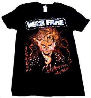 WARFARE「MAYHEM」Tシャツ<img class='new_mark_img2' src='//img.shop-pro.jp/img/new/icons11.gif' style='border:none;display:inline;margin:0px;padding:0px;width:auto;' />