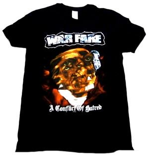 WARFARE「A CONCLIFT OF HATERED」Tシャツ<img class='new_mark_img2' src='//img.shop-pro.jp/img/new/icons11.gif' style='border:none;display:inline;margin:0px;padding:0px;width:auto;' />