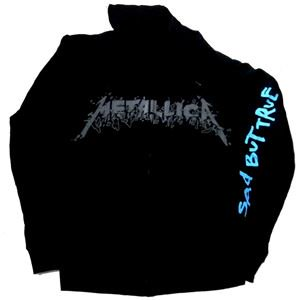 METALLICA「SAD BUT TRUE」ジップパーカー<img class='new_mark_img2' src='//img.shop-pro.jp/img/new/icons11.gif' style='border:none;display:inline;margin:0px;padding:0px;width:auto;' />