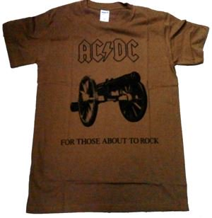 AC/DC「FOR THOSE BROWN」Tシャツ<img class='new_mark_img2' src='//img.shop-pro.jp/img/new/icons11.gif' style='border:none;display:inline;margin:0px;padding:0px;width:auto;' />