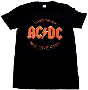 AC/DC「DIRTY DEEDS」Tシャツ<img class='new_mark_img2' src='//img.shop-pro.jp/img/new/icons11.gif' style='border:none;display:inline;margin:0px;padding:0px;width:auto;' />