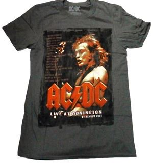 AC/DC「DONINGTON」Tシャツ<img class='new_mark_img2' src='//img.shop-pro.jp/img/new/icons11.gif' style='border:none;display:inline;margin:0px;padding:0px;width:auto;' />
