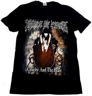 CRADLE OF FILTH「CRUELTY AND THE BEAST」Tシャツ<img class='new_mark_img2' src='//img.shop-pro.jp/img/new/icons11.gif' style='border:none;display:inline;margin:0px;padding:0px;width:auto;' />