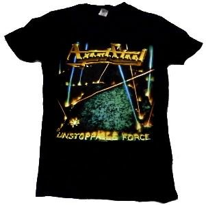 Black Agent Steel Unstoppable Force T-Shirt