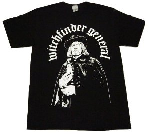 WITCHFINDER GENERAL「VINCENT」Tシャツ<img class='new_mark_img2' src='//img.shop-pro.jp/img/new/icons52.gif' style='border:none;display:inline;margin:0px;padding:0px;width:auto;' />