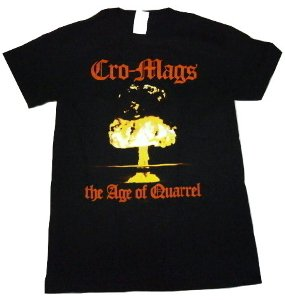 CRO-MAGS「THE AGE OF QUARREL」Tシャツ<img class='new_mark_img2' src='//img.shop-pro.jp/img/new/icons52.gif' style='border:none;display:inline;margin:0px;padding:0px;width:auto;' />