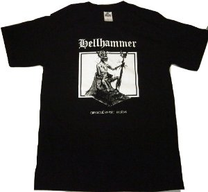 HELLHAMMER「APOCALYPTIC RAIDS」Tシャツ