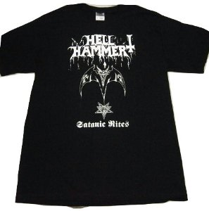 HELLHAMMER「SATANIC RITES」Tシャツ<img class='new_mark_img2' src='//img.shop-pro.jp/img/new/icons52.gif' style='border:none;display:inline;margin:0px;padding:0px;width:auto;' />