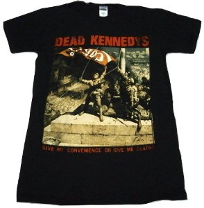 DEAD KENNEDYS「CONVENIENCE OR DEATH」Tシャツ<img class='new_mark_img2' src='//img.shop-pro.jp/img/new/icons52.gif' style='border:none;display:inline;margin:0px;padding:0px;width:auto;' />