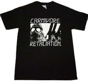 CARNIVORE「RETALIATION」Tシャツ<img class='new_mark_img2' src='//img.shop-pro.jp/img/new/icons52.gif' style='border:none;display:inline;margin:0px;padding:0px;width:auto;' />