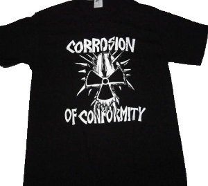 CORROSION OF CONFORMITY「SKULL LOGO」Tシャツ<img class='new_mark_img2' src='//img.shop-pro.jp/img/new/icons52.gif' style='border:none;display:inline;margin:0px;padding:0px;width:auto;' />