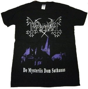 MAYHEM「DE MYSTERIIES」Tシャツ