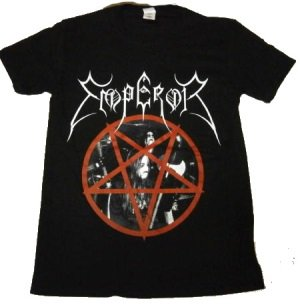 EMPEROR「PENTAGRAM」Tシャツ<img class='new_mark_img2' src='//img.shop-pro.jp/img/new/icons52.gif' style='border:none;display:inline;margin:0px;padding:0px;width:auto;' />