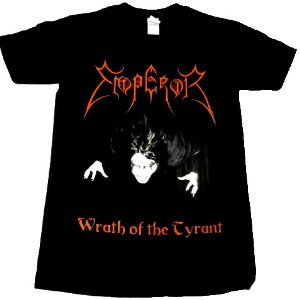 EMPEROR「WRATH OF THE TYLANT」Tシャツ