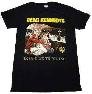 DEAD KENNEDYS「IN GOD WE TRUST」Tシャツ<img class='new_mark_img2' src='//img.shop-pro.jp/img/new/icons52.gif' style='border:none;display:inline;margin:0px;padding:0px;width:auto;' />
