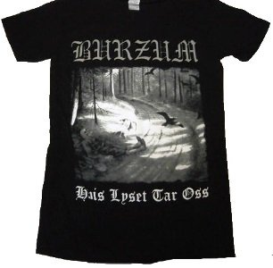 BURZUM「Hvis Lyset Tar Oss」Tシャツ<img class='new_mark_img2' src='//img.shop-pro.jp/img/new/icons52.gif' style='border:none;display:inline;margin:0px;padding:0px;width:auto;' />