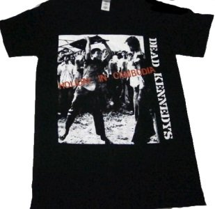 DEAD KENNEDYS「HOLIDAY IN Cambodia−BLACK」Tシャツ<img class='new_mark_img2' src='//img.shop-pro.jp/img/new/icons52.gif' style='border:none;display:inline;margin:0px;padding:0px;width:auto;' />