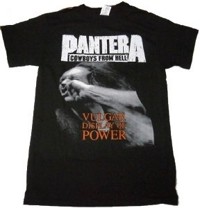 PANTERA「Vulgar Display of Power」Tシャツ<img class='new_mark_img2' src='//img.shop-pro.jp/img/new/icons52.gif' style='border:none;display:inline;margin:0px;padding:0px;width:auto;' />