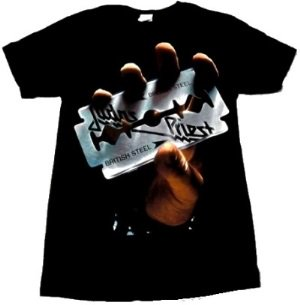 JUDAS PRIEST「BRITISH STEEL」Tシャツ<img class='new_mark_img2' src='//img.shop-pro.jp/img/new/icons52.gif' style='border:none;display:inline;margin:0px;padding:0px;width:auto;' />
