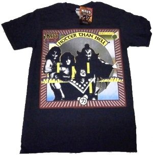 KISS「HOTTER THAN HELL」Tシャツ<img class='new_mark_img2' src='//img.shop-pro.jp/img/new/icons52.gif' style='border:none;display:inline;margin:0px;padding:0px;width:auto;' />