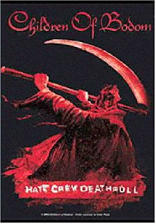 CHILDREN OF BODOM「HATE CRUE」FLAG<img class='new_mark_img2' src='//img.shop-pro.jp/img/new/icons52.gif' style='border:none;display:inline;margin:0px;padding:0px;width:auto;' />